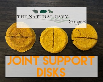 Joint Support Disks / Powerful Herbal Aids/ Guinea Pig and Rabbit Support Tablet
