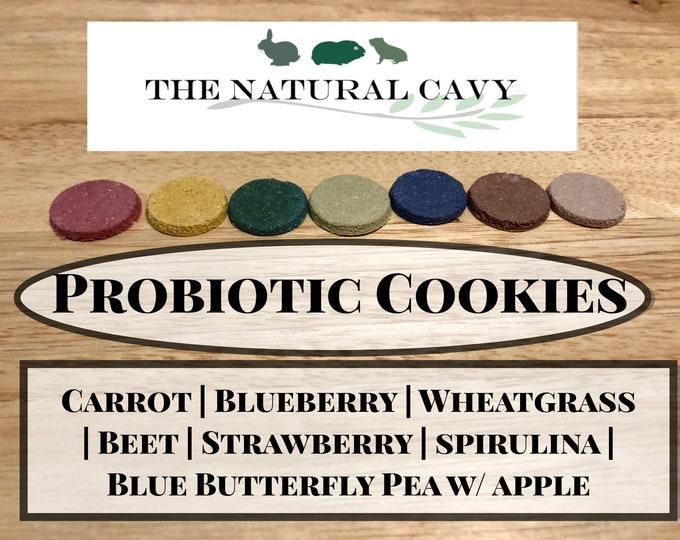 Probiotic Cookies / Guinea Pig Treats / Rabbit Treats