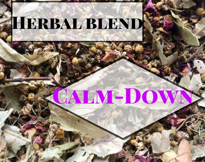 Calm-Down Herbal Blend / Anxiety reducing Herbal Blend / Hay Topper / Now with Kava Kava Root
