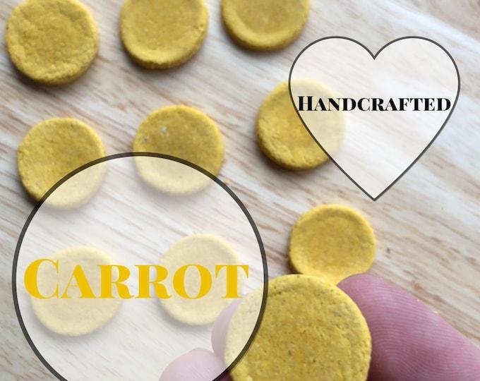 Carrot Cookies / Guinea Pig Treats / Rabbit Treats
