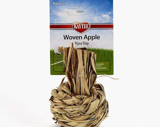 Woven Apple Toss Toy