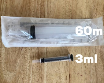 GIANT 60ml Sterile Syringe for Recovery Food
