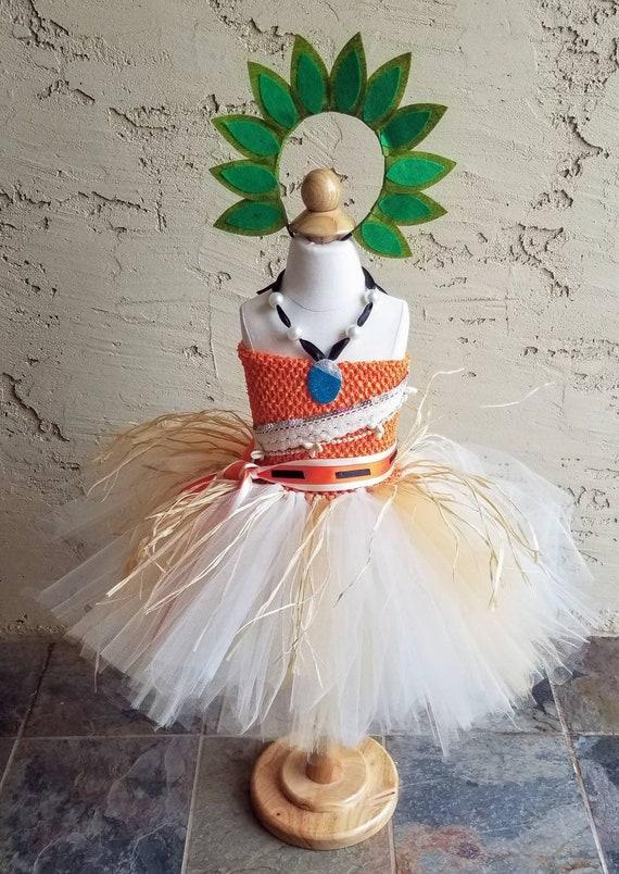 Hawaiian-Inspired Tutu Dress