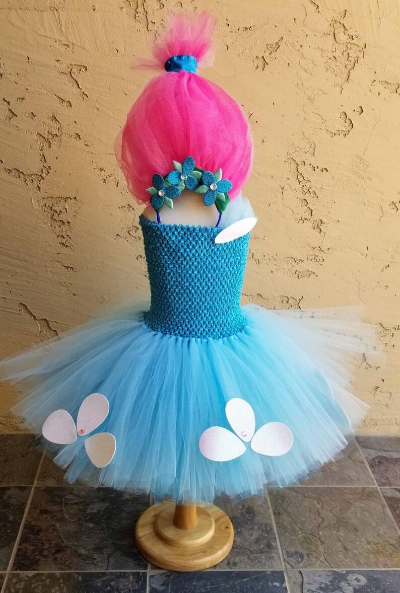 098f67510 Trolls Princess Poppy tutu costume dress poppy tutu poppy | Etsy
