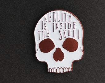 Reality Is Inside The Skull - George Orwell pin