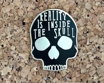 Reality Is Inside The Skull - George Orwell pin (B)