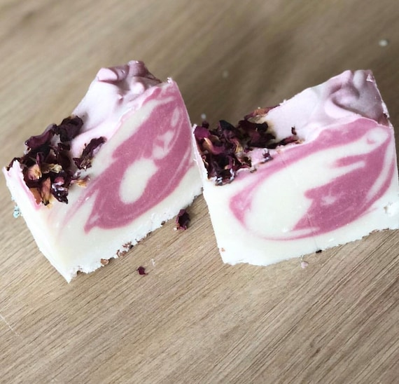 Coconut rose soap