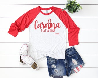 6ba2f678b Next Level 6051 Vintage Red Unisex Baseball Raglan Flat Lay W/Shorts | Raglan  Mock Up | Flat Lay | Mock Up | Holiday Feminine Flat Lay