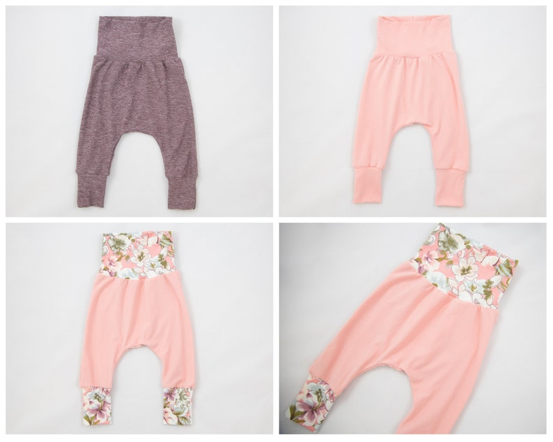 Fits NB-6+ months Grow With Me Baby Pants Newborn Pants Burgundy Floral Baby Girl Pants Baby Shower Gift Baby Girl Gift Pink