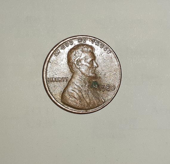 1980 penny no mint