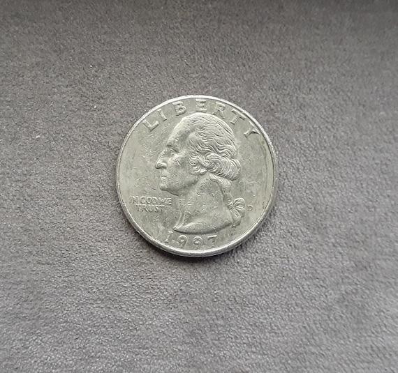 1997  D Quarter Dollar