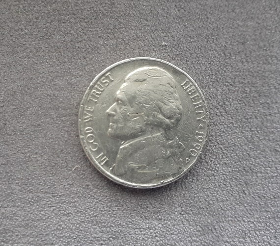 Five Cents 1990 P