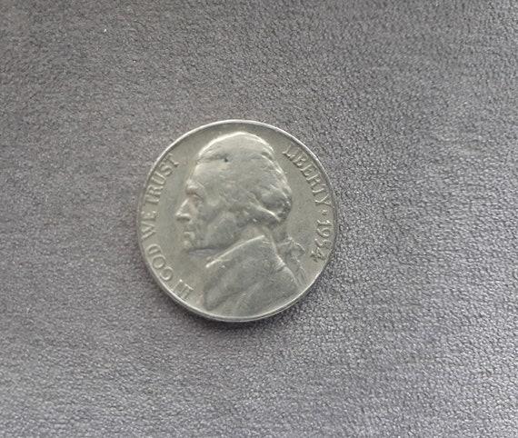 Five Cents 1954 D