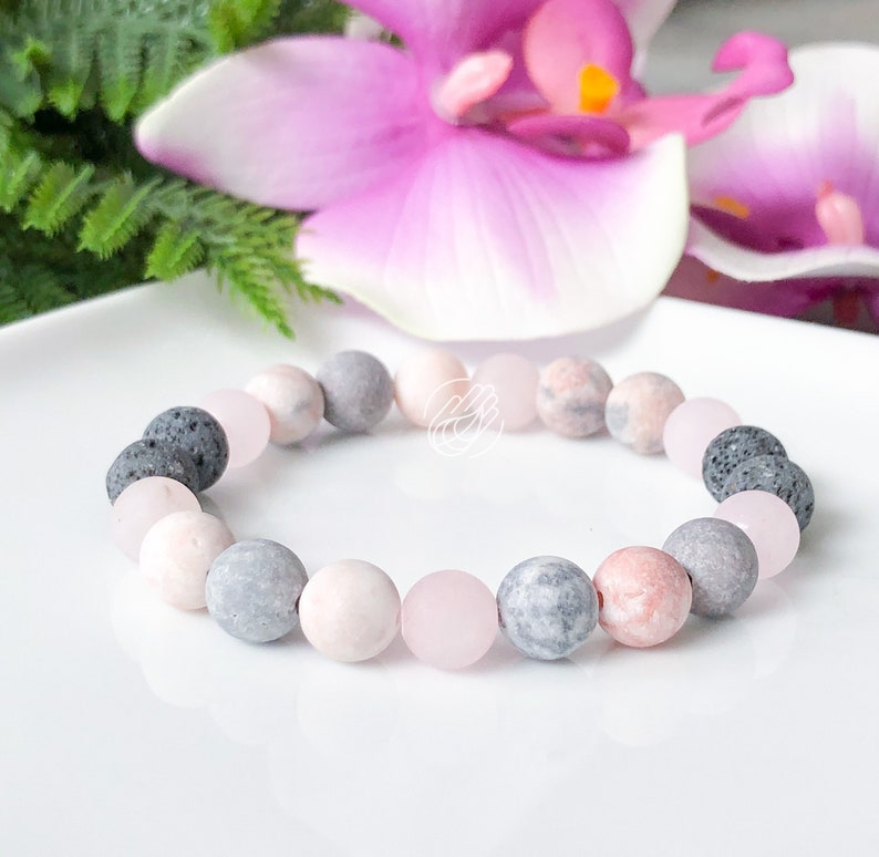 Anxiety Gifts for Her Yoga Teacher Gift Mala Beaded Bracelet Bridesmaid Gift Ideas Yoga Jewelry Gift for Girlfriend Mothers Day Gift