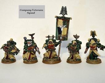 Warhammer 40k Company Veterans Squad Wargames
