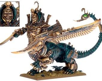 Khemrian Warsphinx Necrosphinx  (multipart) warhammer wargames