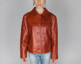 e502276cf Gucci leather jacket | Etsy