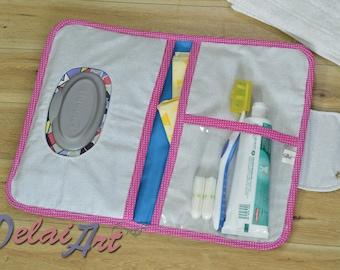 Hygiene pouch, pads pouch, hygiene wallet, hygiene bag, diapers bag, diaper bag, wipes bag.