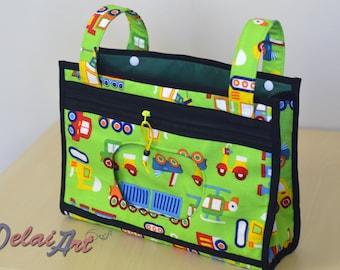 Stroller caddy , stroller bag , baby bag , diaper bag , car baby bag