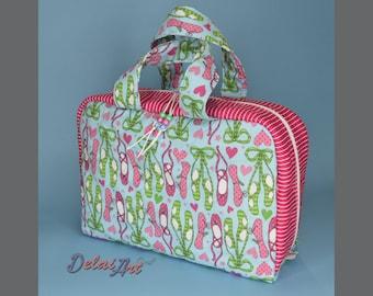"12x08"" Dance bag | Briefcase | diaper bag | ballet bag | Luggage bag"
