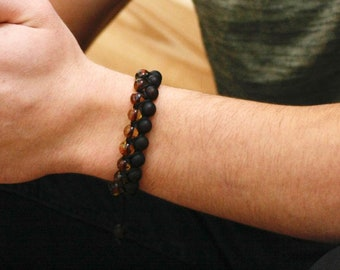 Macrame Shamballa amber bracelet cherry - green colour, unique pure amber bracelet, macrame bracelet, carefully selected amber beads