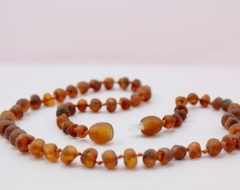 Amber Necklace for little girl or little boy. Amber healing necklace. Amber teething necklace