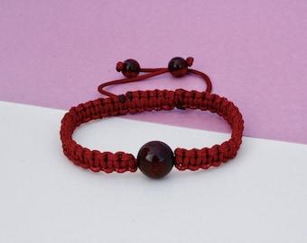Macrame Amber Bracelets