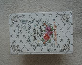 jewelry box, wooden, handmade