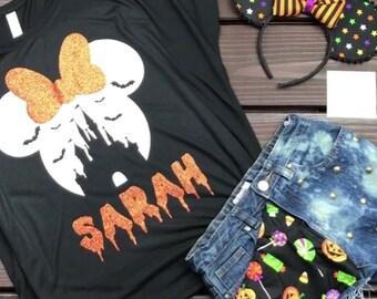 e9686dad3eb11 Items similar to Halloween Disney Tshirt