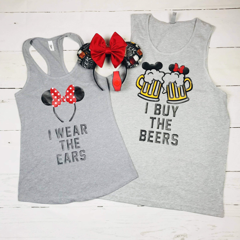 e6f1040f8 Couples Drinking Shirts Disney Shirt Disney Food and Wine | Etsy