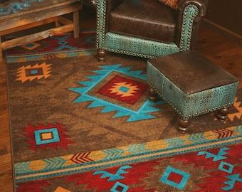 Native American Rug | Native American Style Rug | Native American Area Rug | Southwestern Rug | Southwest Rug | Southwestern Area Rug