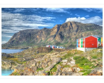Sisimiut Greenland Waterfront