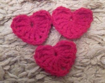 Valentine's heart brooch