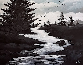 Fly Me Away - Landscape Painting