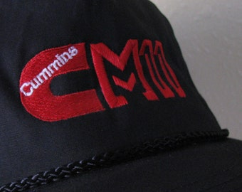 Cummins M Series Engine M11 Embroidered Trucker s Cap With Rope and Dual  Snap Back bf08e55a9071