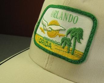 de14f228c28 Kitschy Orlando Florida Souvenir Baseball Cap