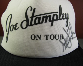 b3a11cd6bd9 Signed Joe Stampley On Tour Baseball Cap