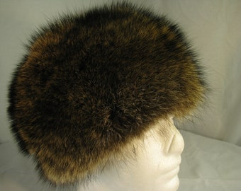 db99e06c Russian Beaver Hat by USA Foxx and Furs. Size 7, Measured at 22
