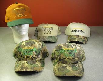 ca78487716f 5 Camo Wisconsin Outdoor News Camo Hats