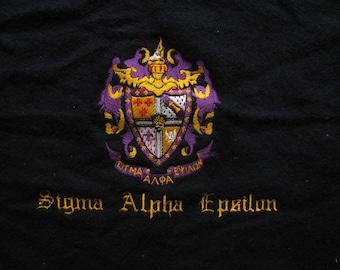 Sigma Alpha Epsilon Fraternity Vintage Stadium Blanket, by Pearce Woolrich