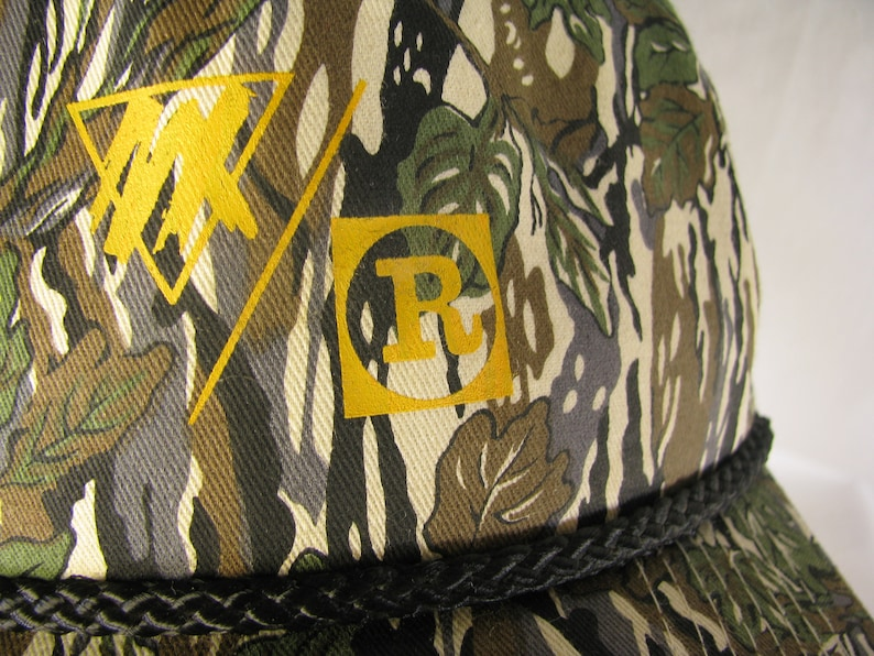 Unique Camouflage on this MX/R trucker Hat image 0