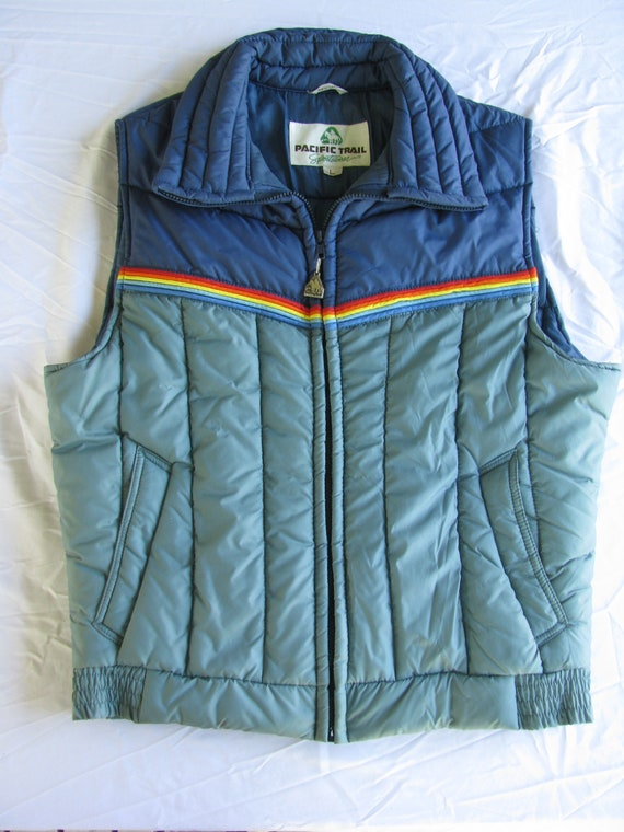 Vintage 1980's Puffer Vest Size Large, by Pacific