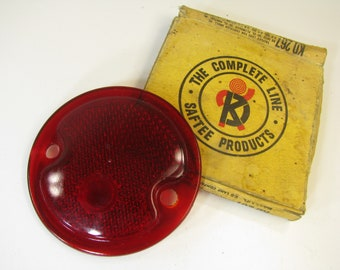 Delite /Saftee Products OEM Stock # 267 Rear Lens Light Cover in Original Box