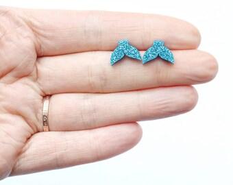 Mickey Mouse Head Earrings Hypoallergenic Clip ons Non-pierced ears  Pierced ears Metal free  Pastel  Sensitive Ears  Disney  Cute