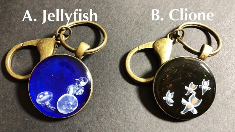 Sea Creature Sea Angel Clione Keychain
