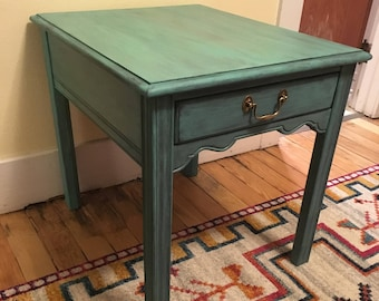 Patina End Table