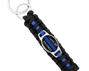 Police Wife Lace Up Bracelet LEOW LEO Police PoliceWife Law Enforcement Cop Officer Thin Blue Line TBL