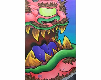 Controlled Monster - By Chris Hale - Reproduction Print