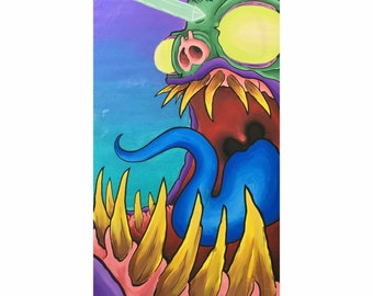 Possessed Monster - By Chris Hale - Reproduction Print