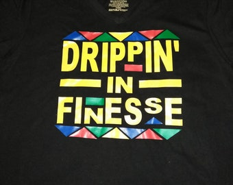 finest selection 85b2a 1895e Dripping In Finesse V-neck Shirt